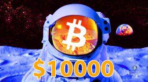 Bitcoin 10000 dollari