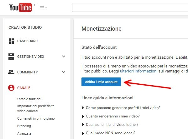 Come monetizzare i propri video